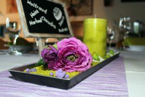 kreative Tischdekoration